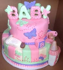 baby shower cake ideas for girl colorful butterfly baby shower cakes baby cake imagesbaby cake