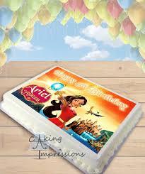 elena of avalor edible image sheet cake topper