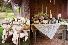 tips and ideas for organizing a gorgeous shabby chic wedding