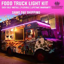 neon lights for trucks food truck led neon light kit crown food carts