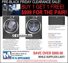 washer and dryers black friday 999 electrolux front load washer dryer set sale save 900