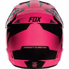 fox motocross gear for kids fox racing v1 youth kids girls helmet race pink