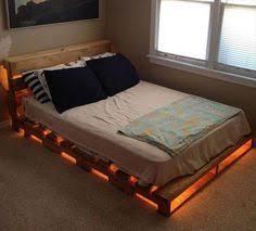 Make Bed Frame To Make A Sized Pallet Bed Frame Decor
