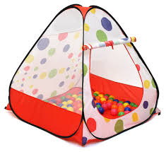 amazon com kiddey kids ball pit play tent pops up no assembly