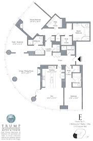 trump tower chicago floor plans gold coast realty