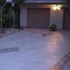 outdoor recessed dek dot led light kit dekor lighting