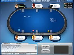 Big Blind Small Blind Sky Poker Review For 2017 U203a U203a Get A 500 Bonus 10 Free