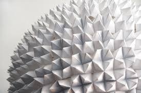 suspension origami diy faceted pendant lights u2013 the large sphere the 3 r u0027s blog