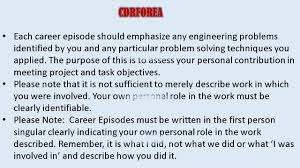 resume template for experienced engineers australia cdr format cdr competency demonstration report for engineer australia youtube