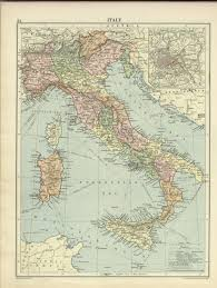Map Of Sardinia Italy by Historic Maps Of Italy Italy London Geographical Institute