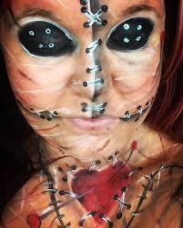 Voodoo Doll Halloween Costume Voodoo Doll Halloween Makeup Tutorial 31 Halloween