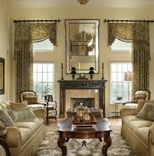 Valance Curtains For Living Room Designs 25 Best Traditional Living Room Designs Living Room Window