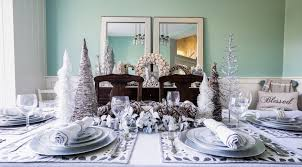 Christmas Dining Room Decor Christmas Decor Guide Turning A Dining Room Into A Winter
