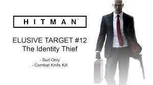 hitman 2016 the identity thief elusive target 12 suit only