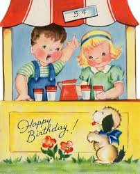 918 best happy birthday images on pinterest vintage birthday