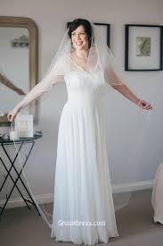 amazing wedding dresses a line cap sleeves amazing lace chiffon wedding dress