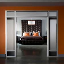 orange and gray bedroom organization ideas for small bedrooms