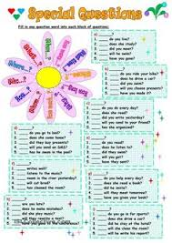 question words english pinterest words english and worksheets