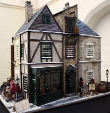 Sweet Coffee Shop France Style Diy Doll House 3d Miniature 283 Best Mini Businesses U0026 Shops Images On Pinterest Scene