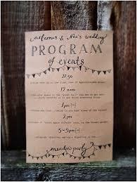 exle of wedding ceremony program proper wording for wedding programs finding wedding ideas