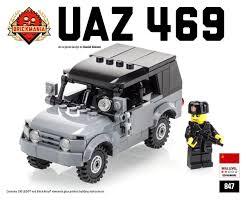 brickmania jeep instructions uaz 469