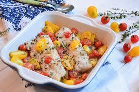 cuisiner les tomates cerises lieu et tomates cerises rôties au four au fil du thym