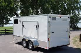 Enclosed Trailer Awning For Sale Complete Trailers Llcbase Popout Sleeper Custom Steel