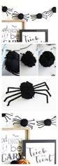 pom pom spider garland garlands spider and craft