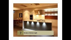 modern kitchen lighting and cabinet lighting youtube