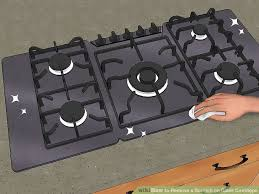 How To Clean A Ceramic Cooktop Stove How To Remove A Scratch On Glass Cooktops With Pictures