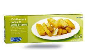 cuisiner poisson congelé 15 bâtonnets de colin d alaska msc surgelés les poissons