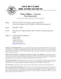 Sample Resume For Retired Police Officer by Curriculum Vitae Police Officer Virtren Com