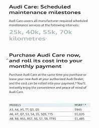 audi a4 service cost india demystifying prepaid maintenance plans openroad auto