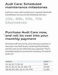 audi a3 maintenance cost demystifying prepaid maintenance plans openroad auto
