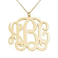 monogram initials necklace monogram initial necklace etsy e4jewelry