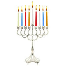 hanukkah candles for sale plated hanukkah menorah for candle use