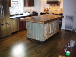 wood kitchen island impressive vintage wood kitchen islands from reclaimed wood with
