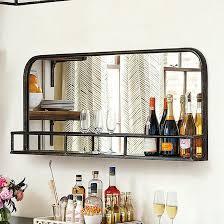 Bastille Bar Cabinet Kingston Bar Shelf Ballard Designs