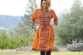 tribal dress embroidered balochi afghani tribal dress pink boho