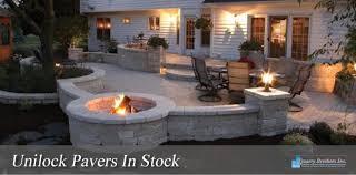 Unilock Fireplace Kits Price Pavers Stone Natural Stone Quarry Brothers Inc Service Ri Ma