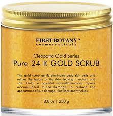 Scrub Gold the best 24k gold scrub for and 8 8 oz botany