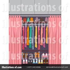 closet clipart 1245123 illustration by bnp design studio