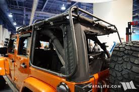 2017 jeep wrangler rugged exterior 2017 sema rugged ridge orange jeep jk wrangler unlimited