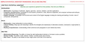 ksa resume examples medical support assistant federal resume ksa