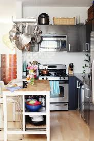 apartment therapy kitchen island 7 ways to make your small apartment kitchen a little bit bigger