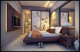Cool Wall Decorations Bedroom Simple Warm Bedroom With Cool Wall Art Idea And Chic Pop