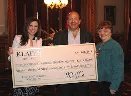 klaff u0027s donates to lockwood mathews mansion museum norwalk ct