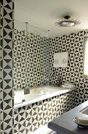 White Tile Bathroom For Luxury - geometry triangle shape triangles and shapes