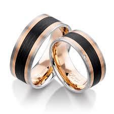 wedding ring men 18k and white gold with carbon fiber men s wedding band