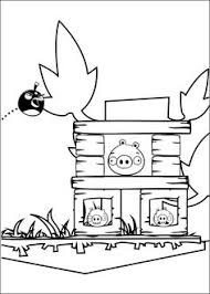 pin angry birds coloring pages yellow bird cake